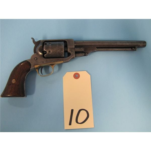 ANTIQUE:  Whitney, Navy model, second type, .36 cap-and-ball, 6 shot, seven and a half inch barrel,