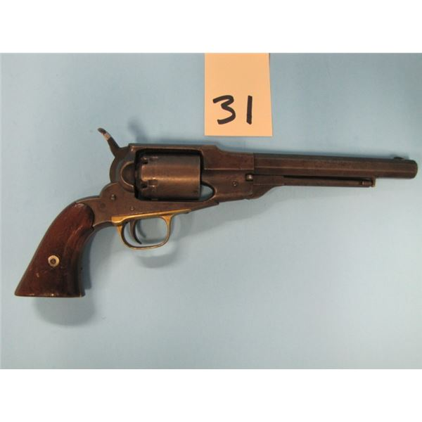 RESTRICTED:  Remington BEALS pat 1858 navy revolver, 36 caliber, barrel length 7 5/16 Serial number