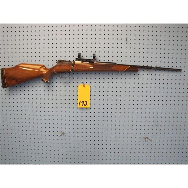 Mauser model 660 bolt action 30 - 06 internal mag, Bausch & Lomb scope rings, reblued, minor handlin