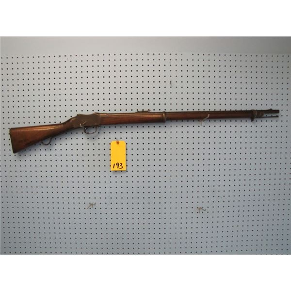 Martini Henry MK IV - 1 long lever Enfield 1887, 577 \450 consignor says excellent board