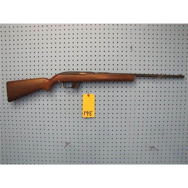 Winchester Model 77, semi automatic, 22LR, clip