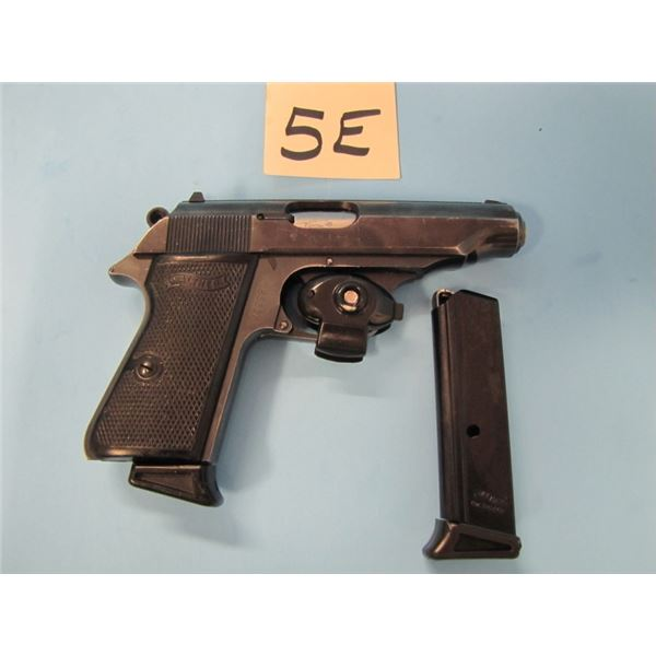 PROHIBITED:  Walther PP 380 semi auto,2 clips serial 523xxx