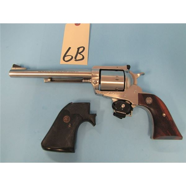 RESTRICTED:  Ruger New Model Super Blackhawk, Stainless Steel, 44 mag, single action revolver, 6 sho