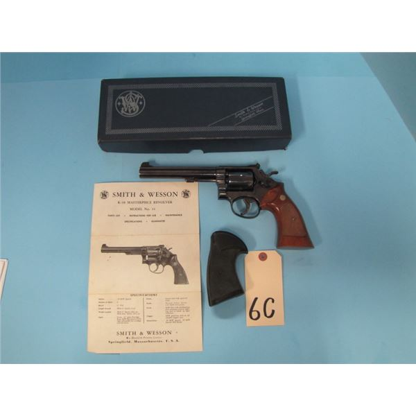 RESTRICTED:  Smith & Wesson, K38 Masterpiece Model 14-3, revolver , .38 special, 6 shot, 150mm barre