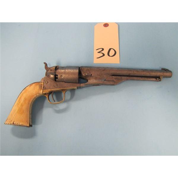 ANTIQUE:  Colt 1860  Army Generation 3 Revolver, 44 percussion caliber, 8 inch barrel, serial num