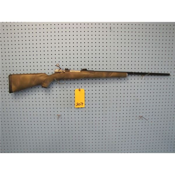 Swedish Mauser, synthetic stock, timney trigger, safety beside action, custom Bolt, 6.5 x55 calibre,