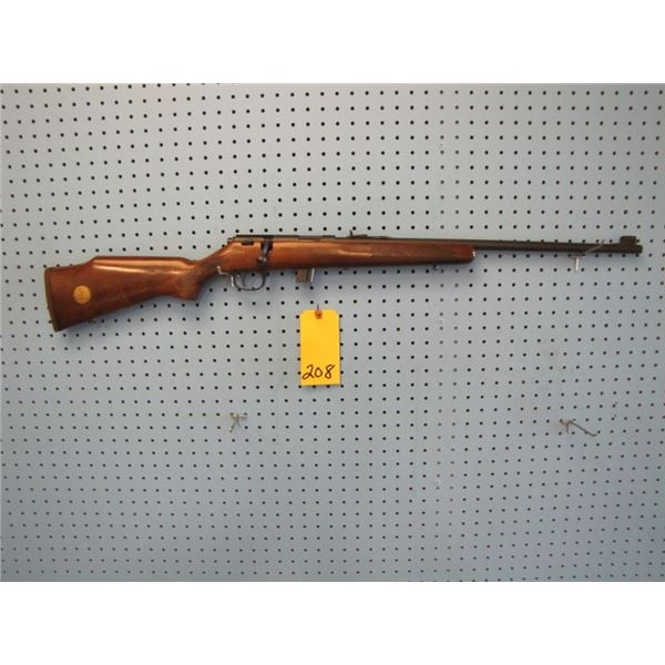 Marlin Ducks Unlimited special model 880, bolt action, 22 long rifle, clip, some handling marks