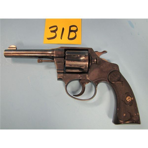 PROHIBITED: Colt, police positive, revolver, 38 Smith & Wesson, 6 shot, some rub marks on the barrel