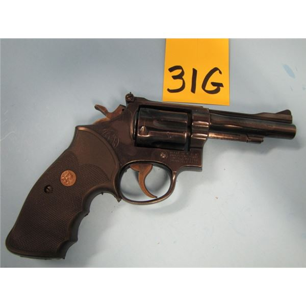 PROHIBITED:  Smith & Wesson, model 15 - 3, revolver, 38 Special, double action, 6 shot, Barrel lengt