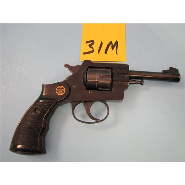 PROHIBITED:  Gecado, revolver, 22 long rifle, 6 shot, barrel length 92 mm, serial number 619 XX doub