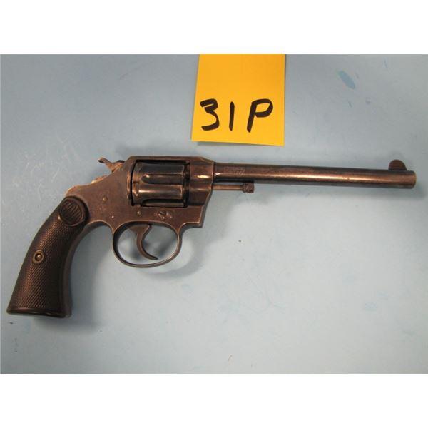PROHIBITED:  Colt, police positive 32, revolver, 32 Long Colt, 6 shot, barrel length of 152 mm, doub