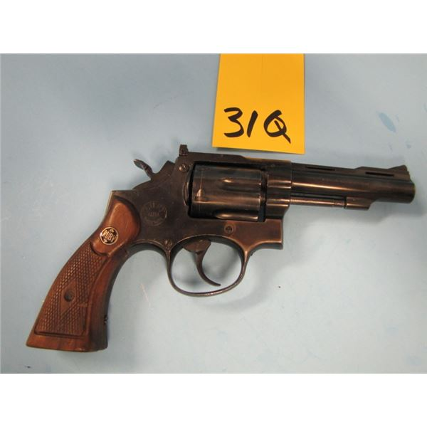 PROHIBITED:  Ruby extra, model XXV, revolver, 38 Special, 6 shot, barrel length 102 mm, double actio