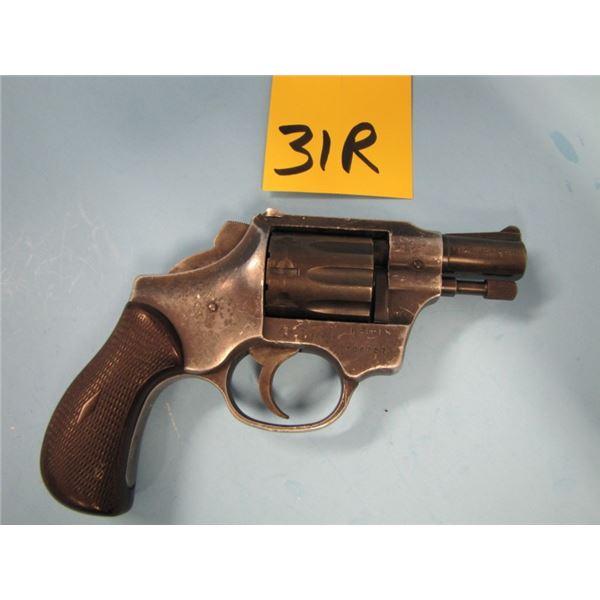 PROHIBITED:  High standard, Sentinel R101, revolver, 22 long rifle, 9 shot, barrel length 60 mm, ser