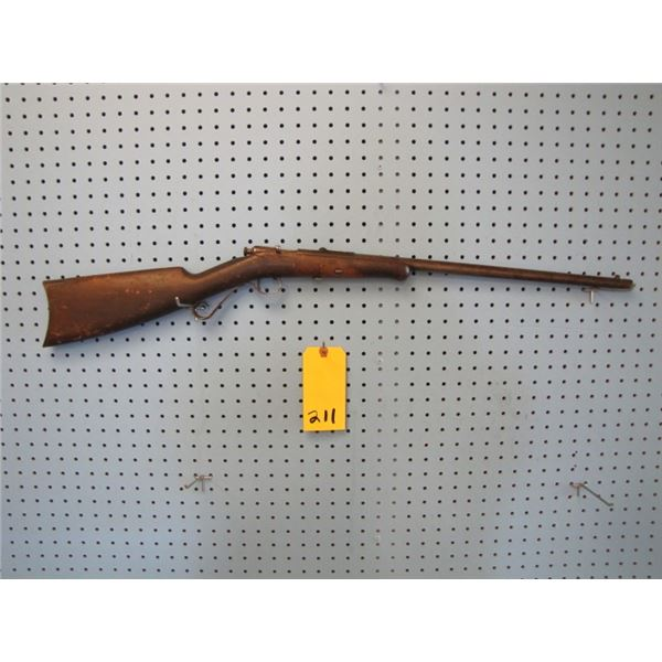 Winchester Model 04, bolt action, 22 short long or extra long, single shot, stock cracked needs to b