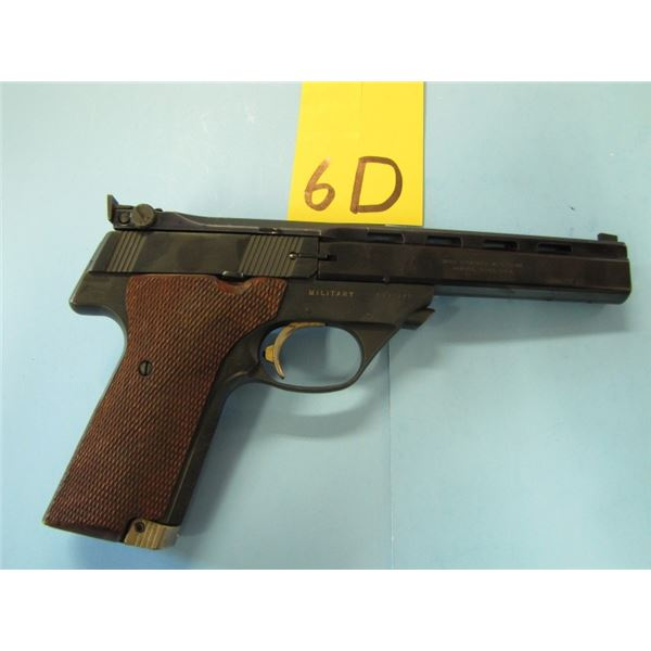 RESTRICTED:  High Standard, The Victor, 22 long rifle, vent rib sight, semi automatic, 10 shot, mark