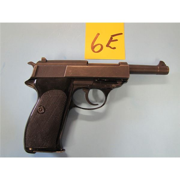 "RESTRICTED:  Walther, P1, Semi Auto, 9mm Caliber, 10 Shot, Ser # 345XXX - ""P1"" was introduced in 195"