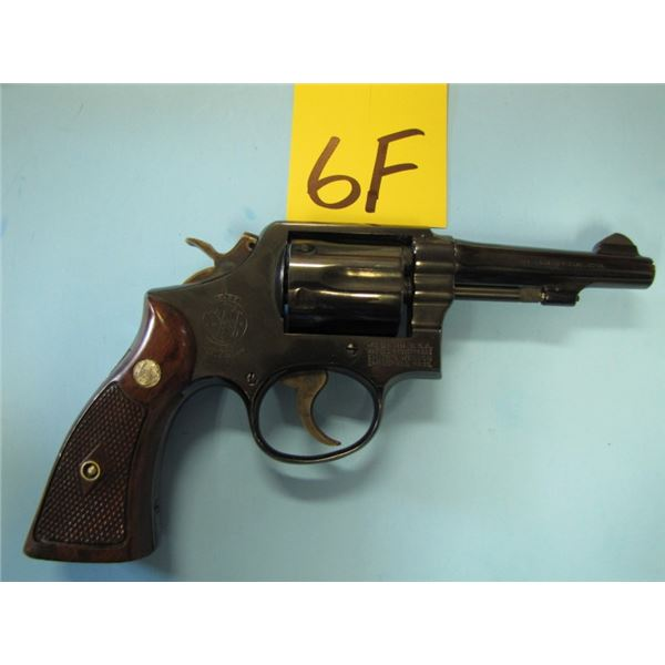 PROHIBITED:  Smith & Wesson, model 10-5, revolver, 38 Special, double action, 6 shot, Barrel length