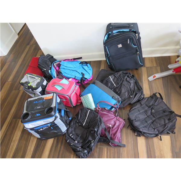 Approx. 15 Bags: Backpacks, Cooler Bags, Handbags (Over $100 Value)
