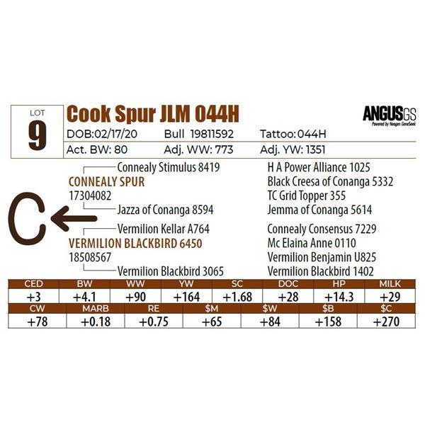 Cook Spur JLM 044H