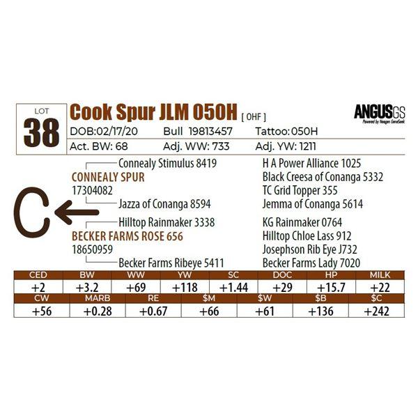 Cook Spur JLM 050H