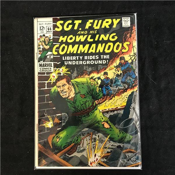 SGT. FURY and his HOWLING COMMANDOS #66 (MARVEL COMICS)
