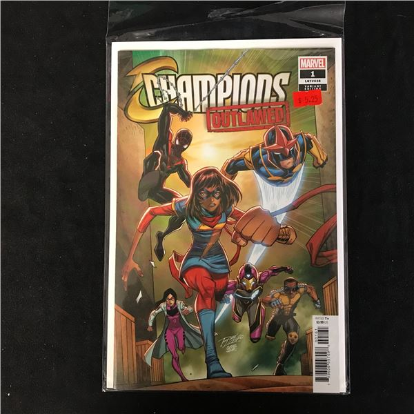 CHAMPIONS Outlawed #1 (MARVEL VARIANT)