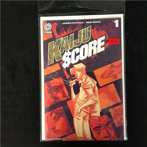 KAIJU SCORE #1 (AFTERSHOCK)