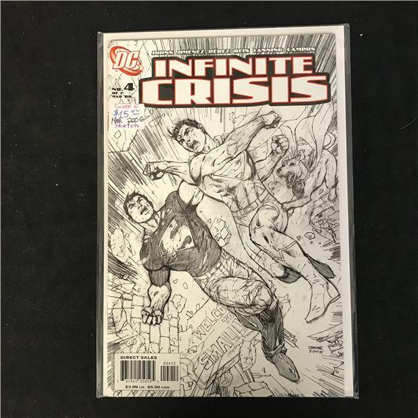 INFINITE CRISIS #4 (DC COMICS)