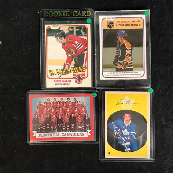 VINTAGE HOCKEY CARD LOT