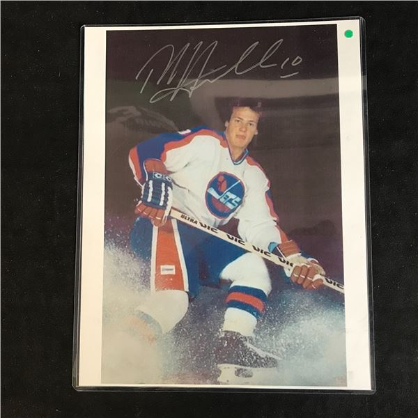 DALE HAWERCHUK SIGNED 8X10 PHOTO