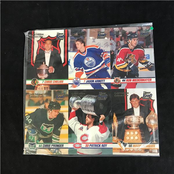 1993-94 Kraft Dinner Gold Edition Hockey Card Lot