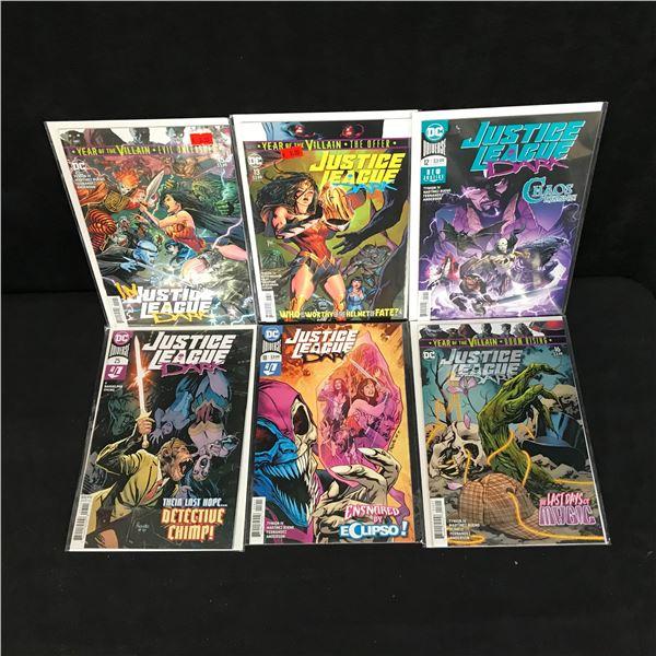 JUSTICE LEAGUE DARK COMIC BOOK LOT (DC COMICS)