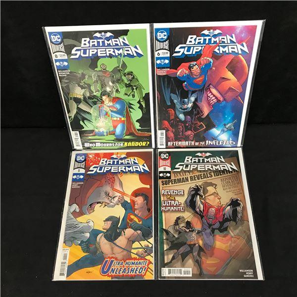 BATMAN SUPERMAN COMIC BOOK LOT (DC UNIVERSE)