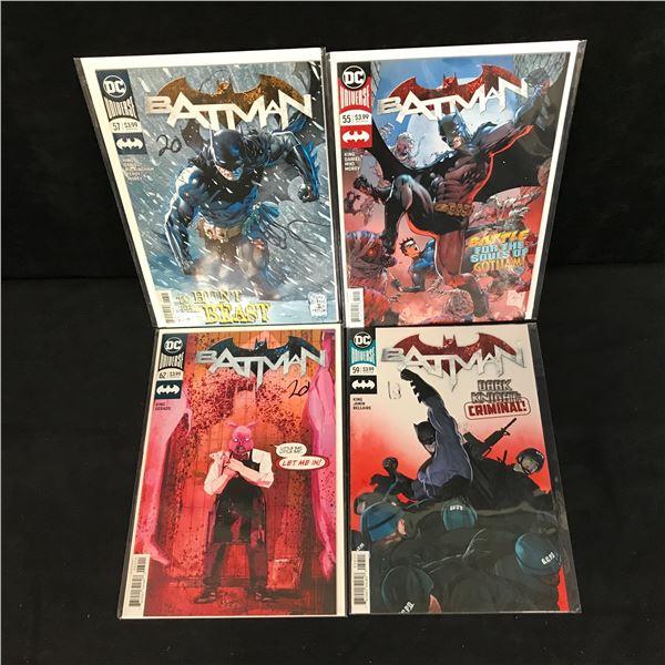 BATMAN COMIC BOOK LOT (DC UNIVERSE)