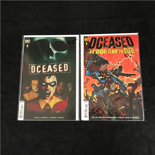 DCEASED #4/ #1 (DC COMICS)