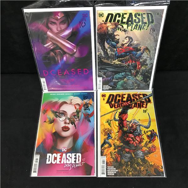 DCEASED COMIC BOOK LOT (DC COMICS)
