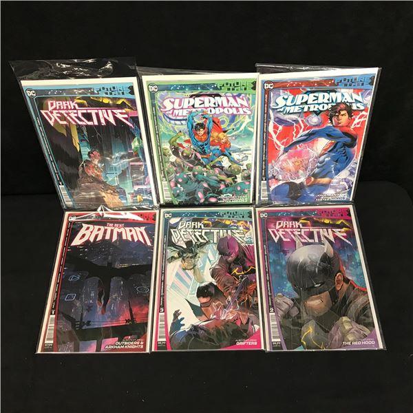 DC FUTURE STATE COMIC BOOK LOT