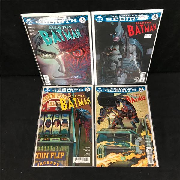 ALL-STAR BATMAN COMIC BOOK LOT (DC COMICS)
