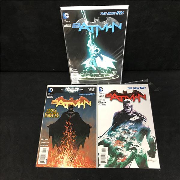 BATMAN THE NEW 52! COMIC BOOK LOT (DC COMICS)