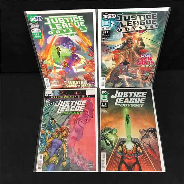 JUSTICE LEAGUE ODYSSEY COMIC BOOK LOT (DC COMICS)