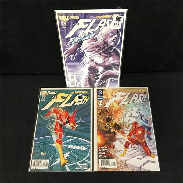 THE FLASH COMIC BOOK LOT (DC COMICS)