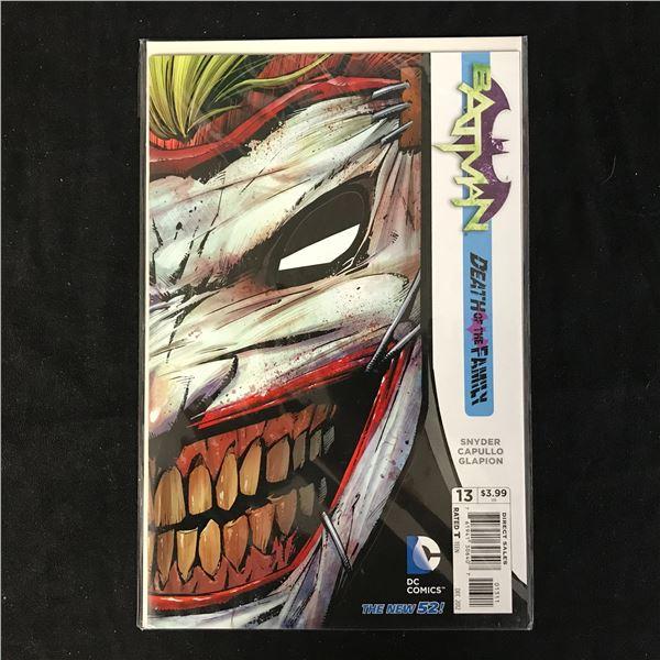 BATMAN #13 DEATH OF THE FAMILY (DC COMICS)