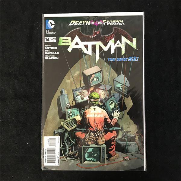 BATMAN #14 DEATH OF THE FAMILY (DC COMICS)
