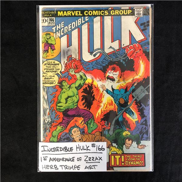 THE INCREDIBLE HULK #166 (MARVEL COMICS)