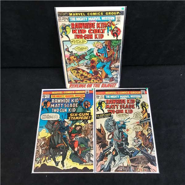 THE MIGHTY MARVEL WESTERN COMIC BOOK LOT (MARVEL COMICS)