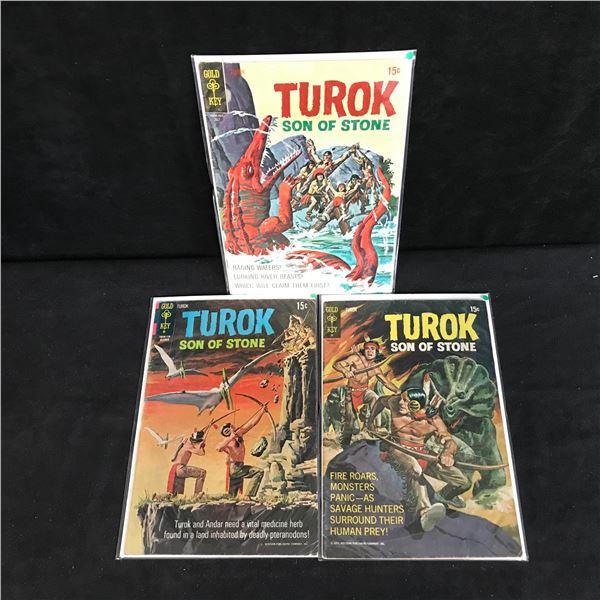 TUROK COMIC BOOK LOT (GOLD KEY COMICS)