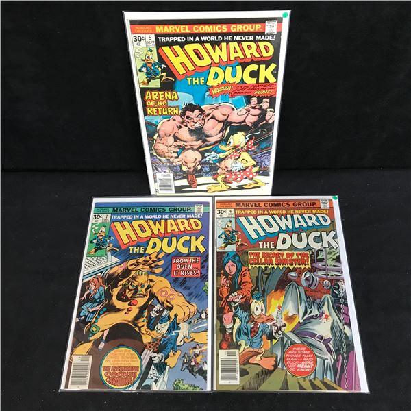 HOWARD THE DUCK COMIC BOOK LOT (MARVEL COMICS)