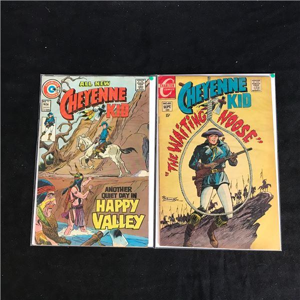CHEYENNE COMIC BOOK LOT (CHARLTON COMICS)