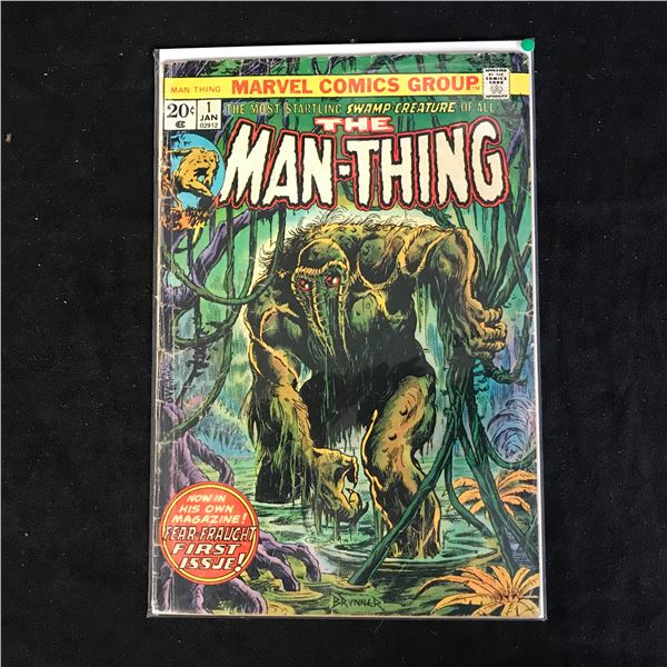 THE MAN-THING #1 (MARVEL COMICS)