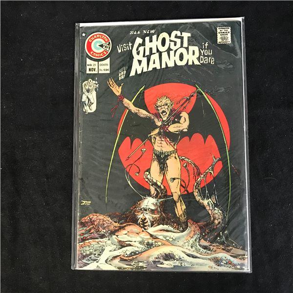 GHOST MANOR #21 (CHARLTON COMICS)